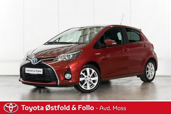 Toyota Yaris 1,5 Hybrid Style / TOPP UTSTYRT / VELHOLDT  2014, 31038 km, kr 178000,-