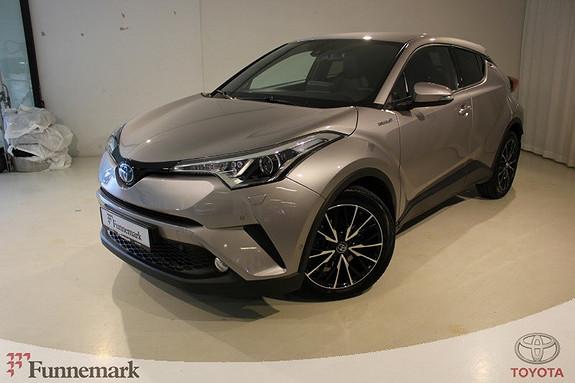 Toyota C-HR 1,8i Hybrid Supreme  2017, 12300 km, kr 339000,-