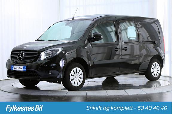 Mercedes-Benz Citan 109 CDI A3 Action DAB+  2014, 26800 km, kr 149900,-