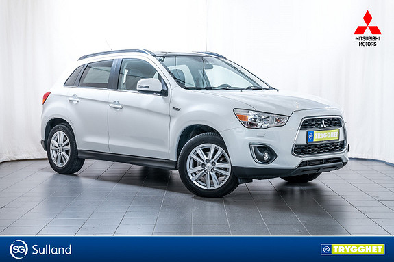 Mitsubishi ASX Instyle+ 1.8-116 ClearTec 4WD Facelift, full historikk!