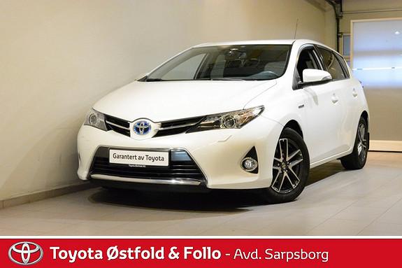Toyota Auris 1,8 Hybrid E-CVT Active+ , KEY-LESS/DAB+/NAVIGASJON M.M  2014, 48100 km, kr 208000,-
