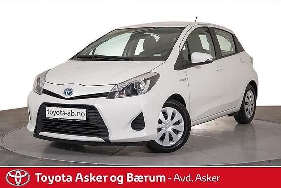 Toyota Yaris 1,5 Hybrid Active RENTEKAMPANJE, RYGGEKAMERA, AUTOMAT ++  2014, 31900 km, kr 159000,-