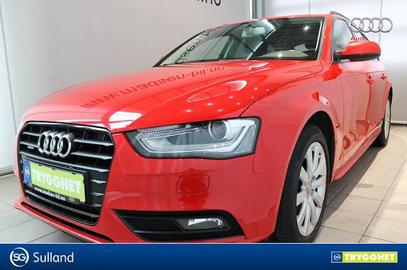 Audi A4 Avant 2,0 TDI 177hk quattro WEBASTO, KROK, NAVI, B & O