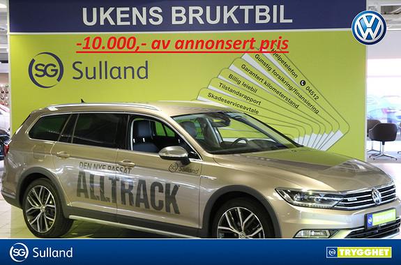 Volkswagen Passat Alltrack 2,0 TDI 190hk 4MOTION DSG Area View,park.varm m/fj,navi
