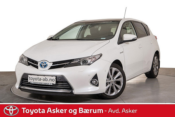 Toyota Auris 1,8 Hybrid Executive HSD  2014, 36700 km, kr 225000,-