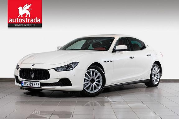 Maserati Ghibli Diesel Som NY 275hk Rentekampanje 0,99%