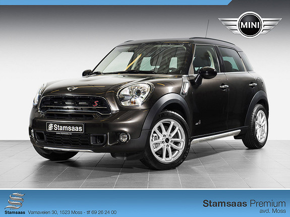 MINI Countryman Cooper S ALL4 WIRED, HENGERFESTE, DAB+, NORSK BIL!
