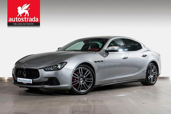 "Maserati Ghibli Diesel ""Norges fineste!""Rentekampanje 0,99%"