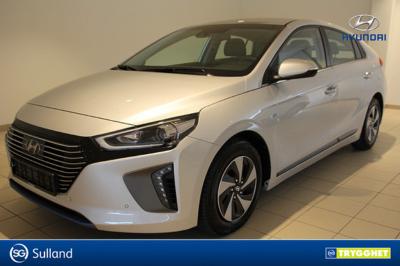 Hyundai Ioniq Teknikk Skinn, Navi, Kamera