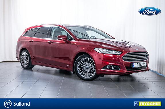 Ford Mondeo 2,0 TDCi 180hk Titanium AWD aut Topp utstyrt!!