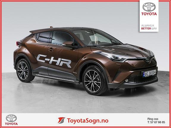 Toyota C-HR 1,2T Supreme Tech 4WD aut  2017, 12050 km, kr 409000,-