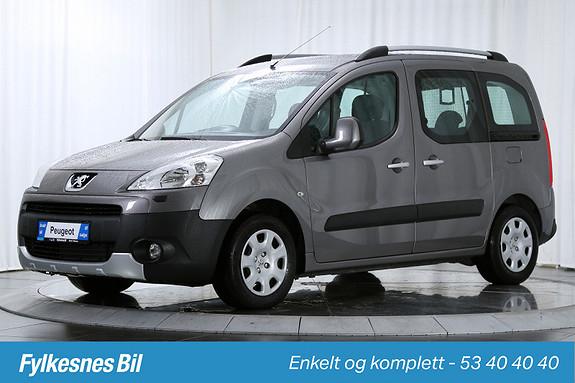 Peugeot Partner Tepee 1,6 HDi 90hk  2010, 72500 km, kr 149900,-