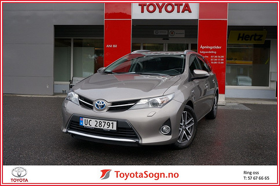 Toyota Auris Touring Sports 1,8 Hybrid Active+  2014, 58 000 km, kr 209 000,-