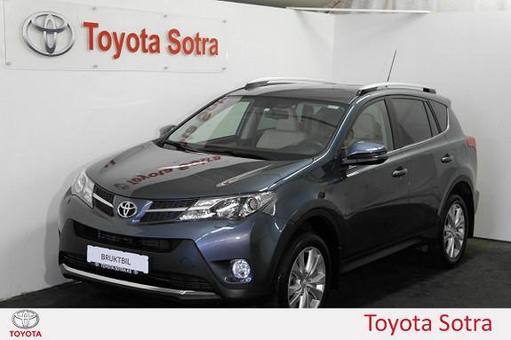 Toyota RAV4 2,0 4WD Multidrive S Executive LAV KM  2014, 20252 km, kr 355000,-