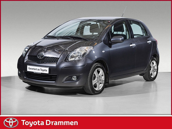 Toyota Yaris 1,33 Sol S&S  2010, 64830 km, kr 95000,-