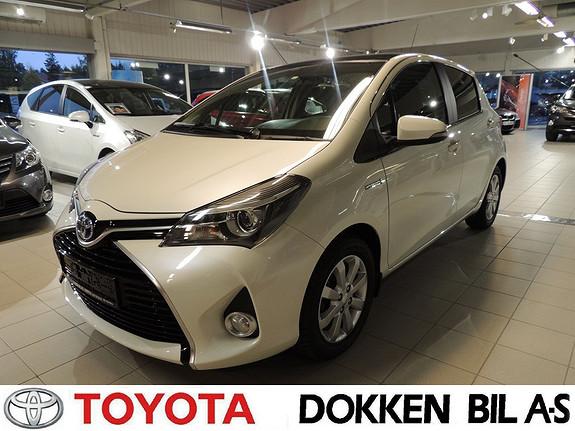 Toyota Yaris 1,5 Hybrid Style  2015, 17000 km, kr 189000,-