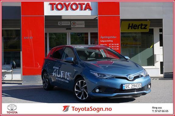 Toyota Auris 1,8 Hybrid E-CVT Style Safety Sense  2015, 35000 km, kr 239000,-