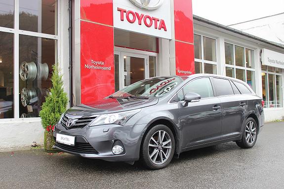 Toyota Avensis 1.6 132hk Advance In Business TECTYL, NORSK BIL,1 EIGAR  2013, 61500 km, kr 209900,-