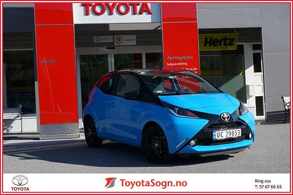 Toyota Aygo x-cite 1,0  2016, 23000 km, kr 149000,-