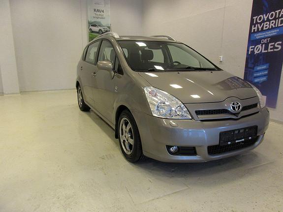 Toyota Corolla Verso 1,8 bensin 7 seter  2005, 203770 km, kr 79900,-