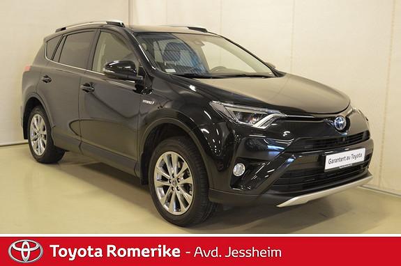 Toyota RAV4 Hybrid 4WD Executive Skinn  2016, 15300 km, kr 469000,-
