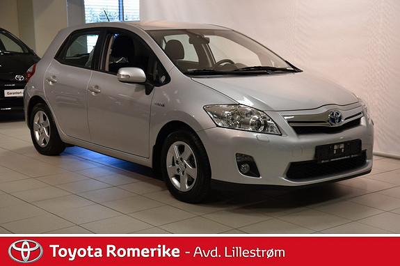 Toyota Auris 1,8 Hybrid Advance HSD  2012, 66013 km, kr 159000,-