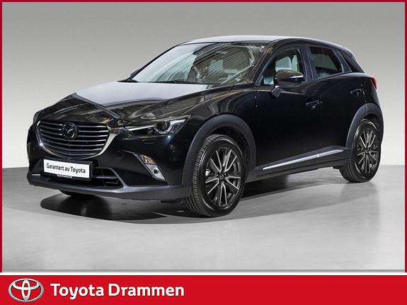 Mazda CX-3 2,0 150hk Optimum AWD aut  2016, 26895 km, kr 309000,-