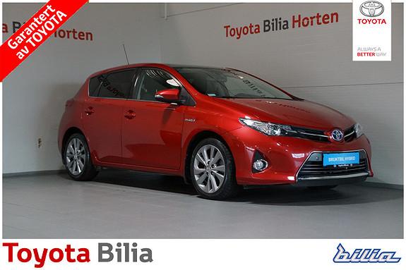 Toyota Auris 1,8 Hybrid E-CVT Executive  2013, 43780 km, kr 199000,-