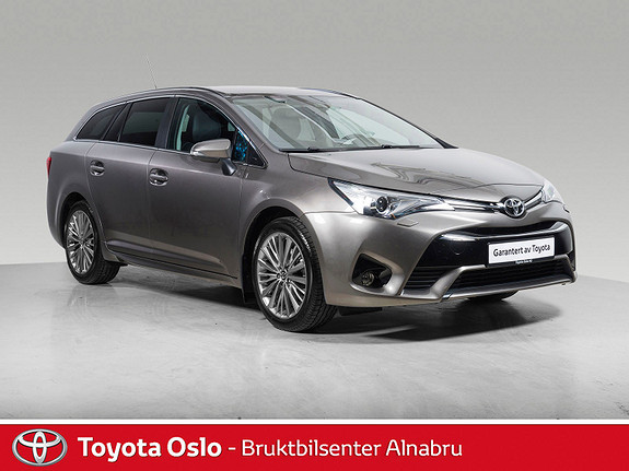 Toyota Avensis Touring Sports 1,8 Active Style M-drive S7 Automat, DAB  2017, 24190 km, kr 364900,-