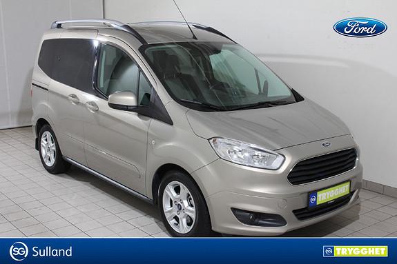 Ford Tourneo Courier 1,0 ECOboost 100hk Titanium NAVIGASJON-DAB-RYGGEKAMERA-