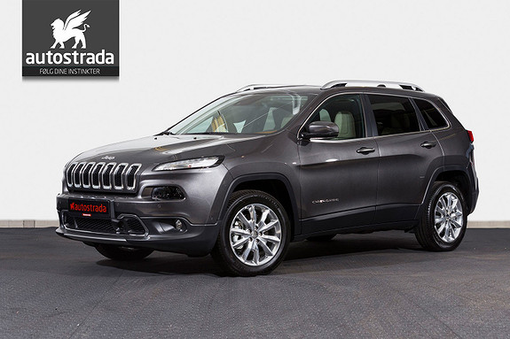 Jeep Cherokee Limited 2,2 MJD AT 200Hk AWD Nav BT Skinn KAMPANJE