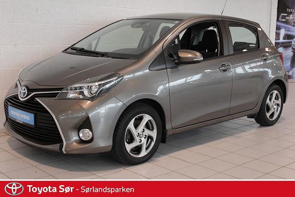 Toyota Yaris 1,5 Hybrid Active S e-CVT  2016, 19500 km, kr 205000,-