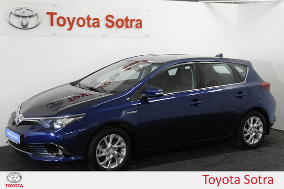 Toyota Auris 1,8 Hybrid E-CVT Active S NORSK DAB+ NAVI  2016, 10900 km, kr 264900,-