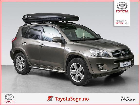 Toyota RAV4 2,2 D-CAT AT X HENGERFESTE, TAKBOKS  2009, 186745 km, kr 175000,-