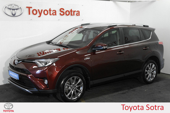 Toyota RAV4 Hybrid AWD Executive  2017, 5510 km, kr 479000,-