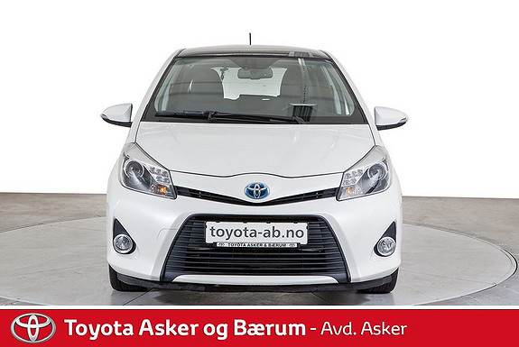 Toyota Yaris 1,5 Hybrid Style  2014, 43600 km, kr 164000,-