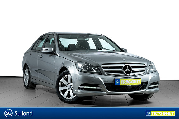 Mercedes-Benz C-Klasse C180 CDI WEBASTO-TILHENGERFESTE-BIXENON-BLUETOOTH-DAB