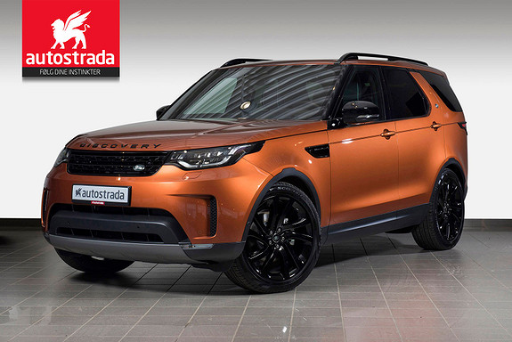 Land Rover Discovery Black Pack 3.0TDV6 HSE 7-seter