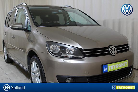 Volkswagen Touran 1,6 105 TDI BMT Edition 7-s. Fleksibel familiebil