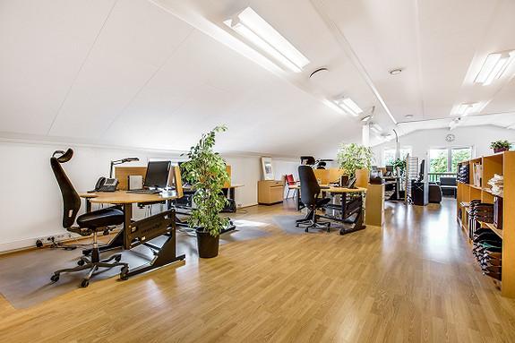 Åpent kontorlandskap