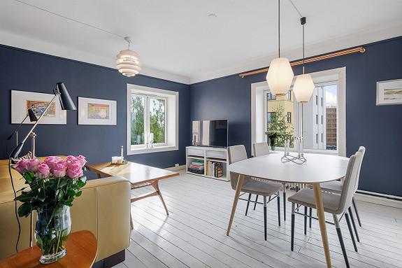 3-roms leilighet - St. Hanshaugen-Ullevål - Oslo - 4 150 000,- Nordvik & Partners