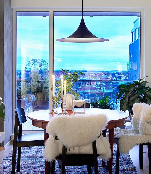 Lekker 3-romsleilighet på toppen av byen - Bryggerifjellet, sentrum