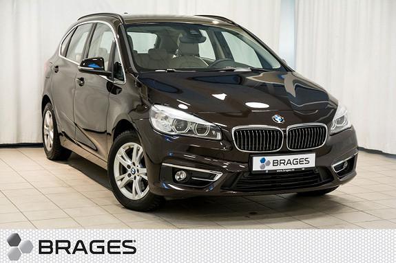 BMW 2-serie 218i Active Tourer aut Luxury, Skinn, DAB+, R.kam, Cruise++  2015, 25400 km, kr 259000,-