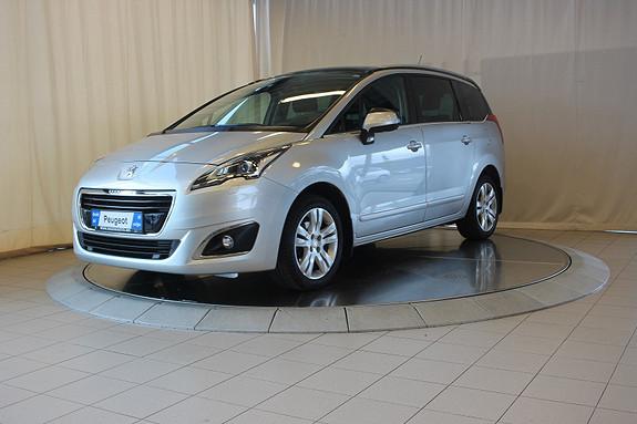 Peugeot 5008 Allure 1,6 HDi 115hk 7s  2014, 39000 km, kr 249000,-