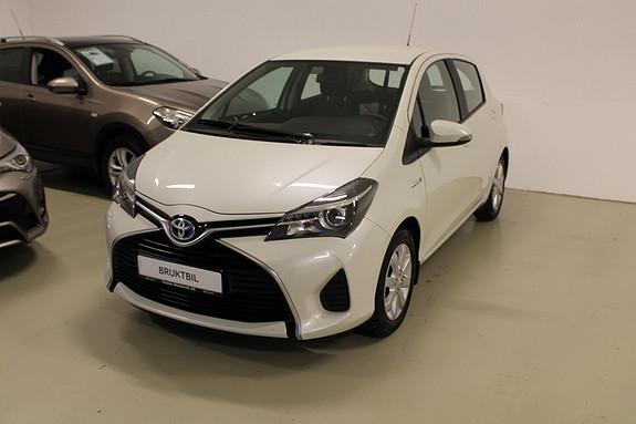 Toyota Yaris 1,5 Hybrid Active e-CVT 10% RABATT// BESPARELSE 15.000,  2014, 41254 km, kr 149000,-