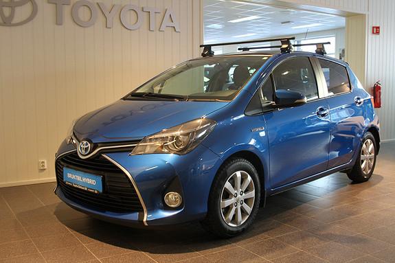 Toyota Yaris 1,5 Hybrid Style e-CVT  2014, 33000 km, kr 169000,-