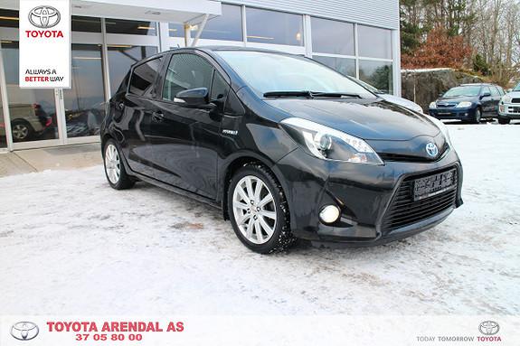 Toyota Yaris 1,5 Hybrid Style  2012, 115000 km, kr 139000,-