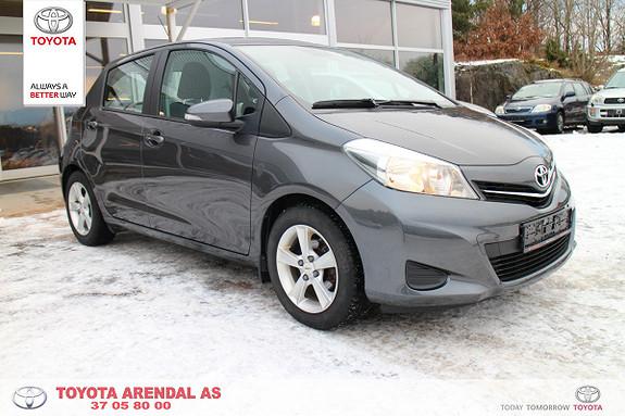 Toyota Yaris 1,33 Active  2014, 36800 km, kr 159000,-