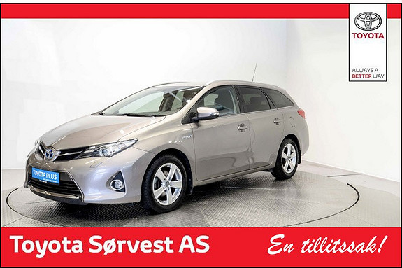 Toyota Auris Touring Sports 1,8 Hybrid Active+ Flott bil, god plass!  2015, 46 648 km, kr 235 000,-