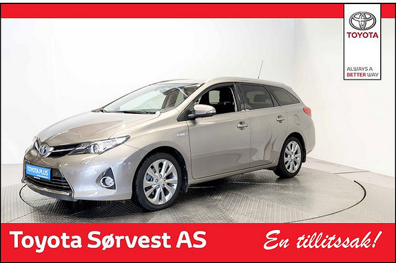 Toyota Auris Touring Sports 1,8 Hybrid Executive Topp modell med alt  2014, 54 800 km, kr 229 000,-